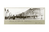 Church of the Nativity, Bethlehem, 14th December 1917 Giclee Print by Capt. Arthur Rhodes