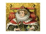 Queen Elizabeth I Giclee Print by Albert Kretschmer