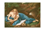 Maria Magdalena Giclée-tryk af Pompeo Batoni