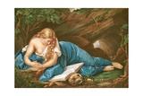 Mary Magdalene Giclee Print by Pompeo Girolamo Batoni