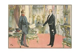 Life of Otto Von Bismarck Giclee Print by Carl Rohling