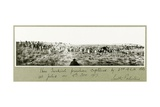 1600 Turkish Prisoners Captured by the 2nd A.L.H. Brigade, 8th November 1917 Giclee Print by Capt. Arthur Rhodes