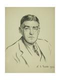 Sir Ernest Shackleton, 1921 Giclee Print by Reginald-Grenville Eves