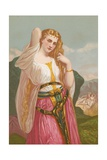 Jephtha's Daughter Giclee Print by Hugues Merle