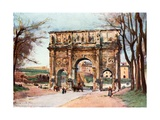 Arch of Constantine Giclee Print by Alberto Pisa