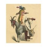 Dressed-Up Monkeys Giclee Print by  English School