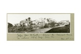 Jaffa from the South, Simon the Tanner's House on the Left of the Palm Tree, 2nd December 1917 Giclee Print by Capt. Arthur Rhodes