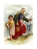 Abraham and Isaac Giclee Print by John Lawson