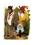 """'Baby Gorilla', 1913 Giclee Print by M.T. """"Penny"""" Ross"""