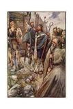 Saint Columba Giclee Print by Joseph Ratcliffe Skelton