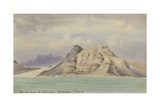 From Cape Town to Simon's Bay, 5 Oct, 1901 Giclee Print by Edward Adrian Wilson