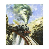 The Khyber Railway Giclee Print by Graham Coton