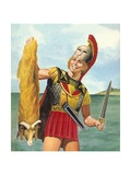 Jason and the Golden Fleece Giclee Print by Don Lawrence