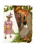 "'The Puma', 1913 Giclee Print by M.T. ""Penny"" Ross"