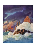 The Storm on the Firth of Clyde Giclee Print by Newell Convers Wyeth