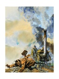 The Death of William Huskisson Giclee Print by Harry Green