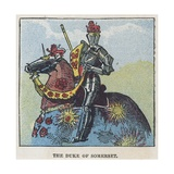The Duke of Somerset Giclee Print by  English School