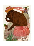 "'Coney', 1913 Giclee Print by M.T. ""Penny"" Ross"