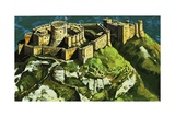 Chateau Gaillard (Reconstruction) Giclee Print by Harry Green