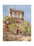 Badia Vecchia, Taormina Giclee Print by Alberto Pisa