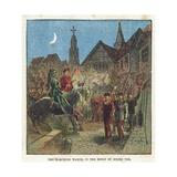The Marching Watch in the Reign of King Henry VIII Giclee Print by  English School