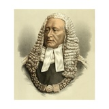 Lord Chief Justice Cockburn Giclee Print by  English School