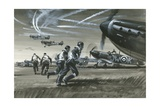 The Battle of Britain Giclee Print by Wilf Hardy