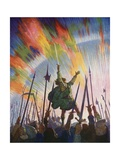 The Pledge Giclee Print by Newell Convers Wyeth