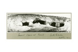 Ancient Caves at Kasif, South Palestine, October 1917 Giclee Print by Capt. Arthur Rhodes