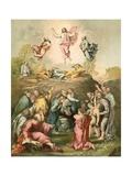 La Transfiguration Reproduction procédé giclée par  Raphael