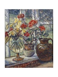 Geraniums Giclee Print by Ethel Louise Rawlins
