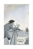 Mason-Dixon Line Giclee Print by John Keay
