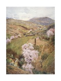 Spring Day in a Valley Near Girgenti Giclee Print by Alberto Pisa