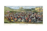 The Battle of Spurs, 1513 Giclee Print by  English School