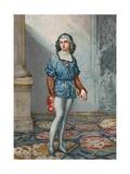Ferdinand Columbus, Second Son of Columbus Giclee Print by Josep or Jose Planella Coromina