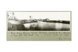 River Auja, Showing Khirbet Hadrah, 3rd December 1917 Giclee Print by Capt. Arthur Rhodes