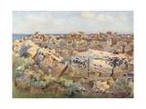 A Dead City, Selinous Giclee Print by Alberto Pisa