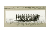 Canterbury Mounted Rifle Officers, October 1917 Giclee Print by Capt. Arthur Rhodes