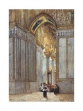 In the Cathedral of Monreale Giclee Print by Alberto Pisa