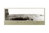 Jerusalem from the Mount of Olives Looking West, 14th December 1917 Giclee Print by Capt. Arthur Rhodes