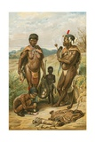 Bushman Family Giclee Print by  North American