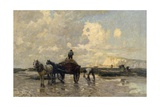Seaweed Gatherers, 1903 Giclee Print by Terrick Williams