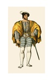 King Francis I of France, 1547 Giclee Print by Albert Kretschmer