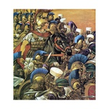 Alexander the Great Giclee Print by Richard Hook