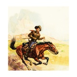 Pony Express Giclee Print by  English School