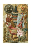 Hamitic Culture: North African Art Work Giclee Print by  North American