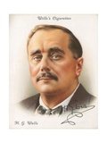 H. G. Wells Giclee Print by  English School