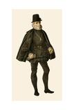 King Philip II of Spain Giclee Print by Albert Kretschmer