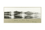 Shellal on the Wadi Guzzeh, October 1917 Giclee Print by Capt. Arthur Rhodes