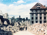 Nuremberg in Ruins, June 1945 Photographic Print by  German photographer